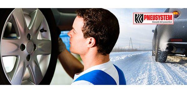 Prezutie pneumatík + vyváženie a uskladnenie letných pneumatík
