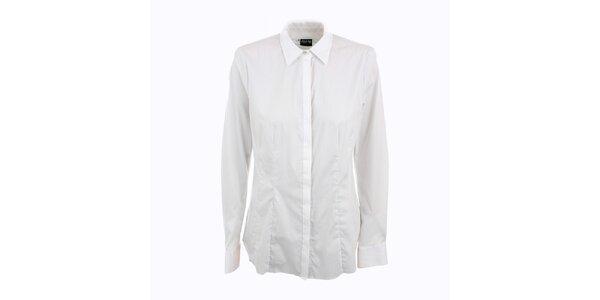 Dámska biela košeľa Pietro Filipi s malými bodkami