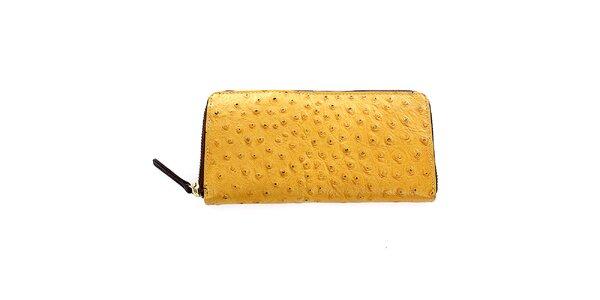 Dámska žltá kožená peňaženka Pietro Filipi