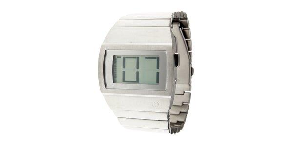 Pánske ocelové digitálne hodinky Danish Design