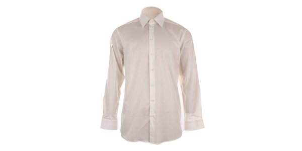 Pánska biela obleková košeľa Pietro Filipi