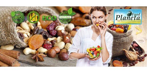 20 % zľava na nákup BIO potravín alebo kuchárska kniha
