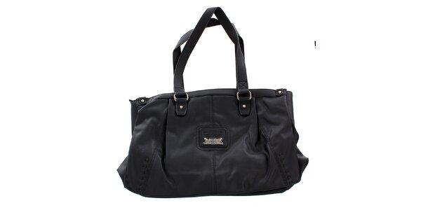 Dámska obdĺžniková kabelka Levis čierna