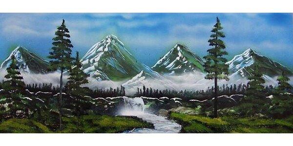 Maľovanie Sprejom podľa želania - Sprej Art