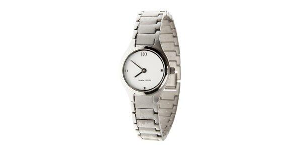 Dámske titanové hodinky Danish Design s bielym ciferníkom