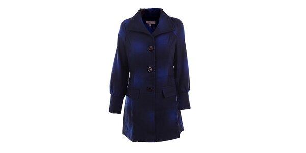 Dámsky modro tónovaný kabát DY Dislay Design