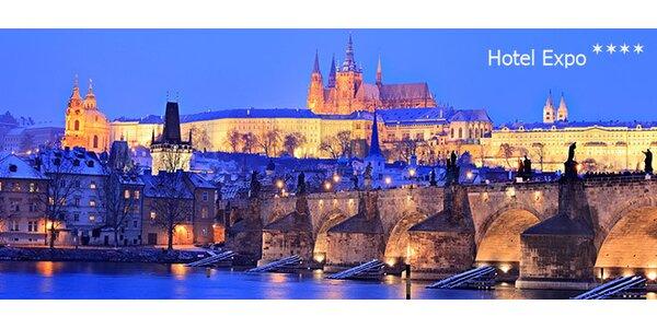 Pobyt pre dve osoby v Prahe v Hoteli EXPO****