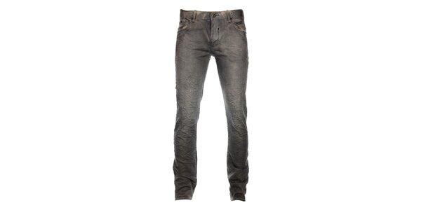 Pánske svetlo šedé džínsy Timeout