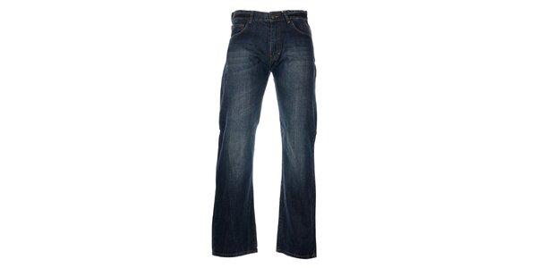 Pánske tmavo modré džínsy Timeout