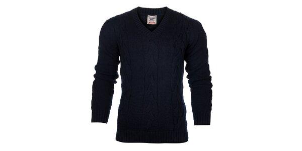 Pánsky tmavo modrý sveter Timeout