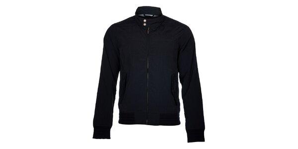 Pánska čierna jesenná bunda Timeout