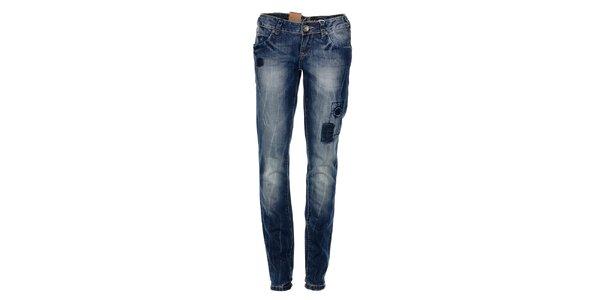Dámske tmavo modré džínsy Timeout