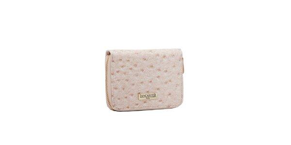 Dámska krémová peňaženka Lancaster