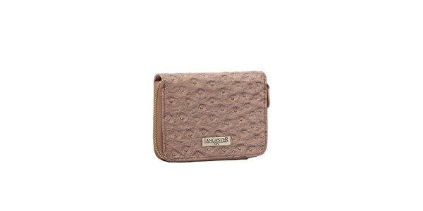 Dámska staroružová peňaženka Lancaster