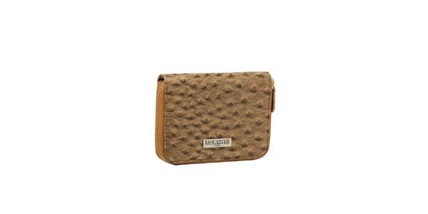 Dámska béžová peňaženka Lancaster