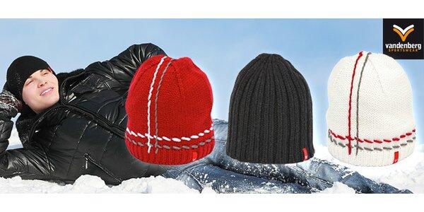 8,99 eur za pletenú zimnú čapicu Vandenberg vrátane poštovného