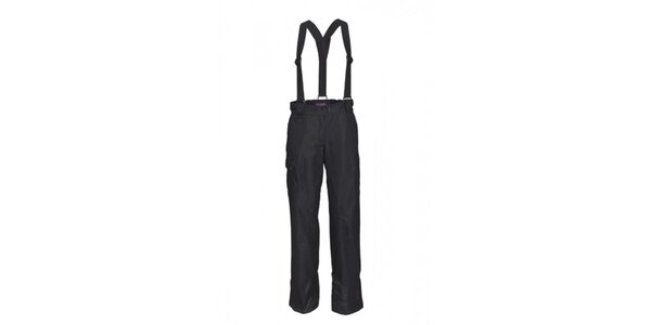 Dámske čierne nohavice s trakmi Envy