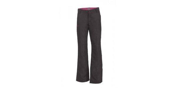 Dámske čierne zateplené nohavice Envy