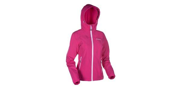 Dámska ružová softshellová bunda Envy