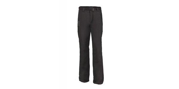 Pánske čierne dvojvrstvové zimné nohavice Envy
