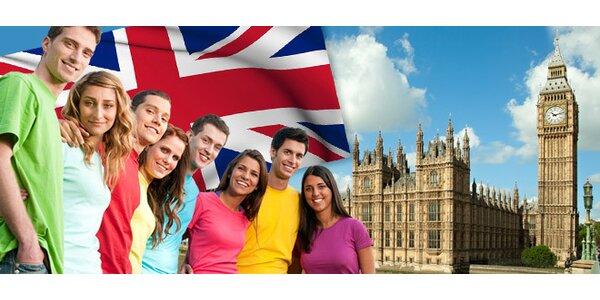 82,50 eur za intenzívny alebo polointenzívny kurz angličtiny pre ZAČIATOČNÍKOV