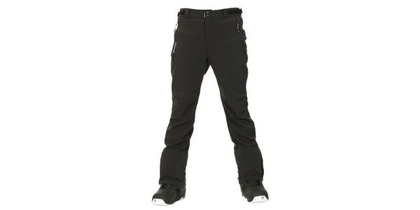 Pánske čierne softshellové zimné nohavice Envy