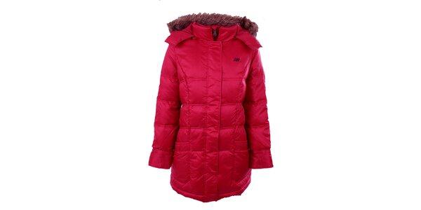 Dámsky tmavo ružový kabát New Balance