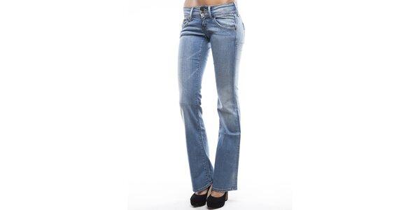 Dámske modré džínsy do zvonu Tommy Hilfiger