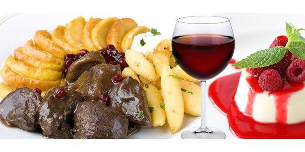 13,90 eur za skvelé menu pre dvoch z diviny s kvalitným vínom