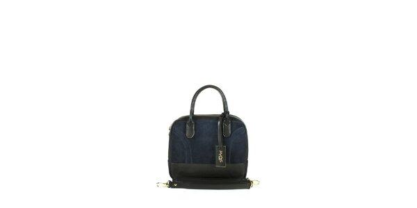 Dámska tmavo modrá kufríková kabelka Joysens