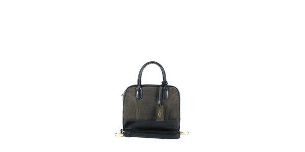 Dámska tmavo hnedá kufríková kabelka Joysens