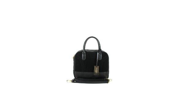 Dámska čierna kufríková kabelka Joysens