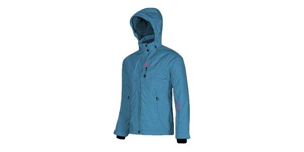 Detská svetlo modrá lyžiarska bunda Husky