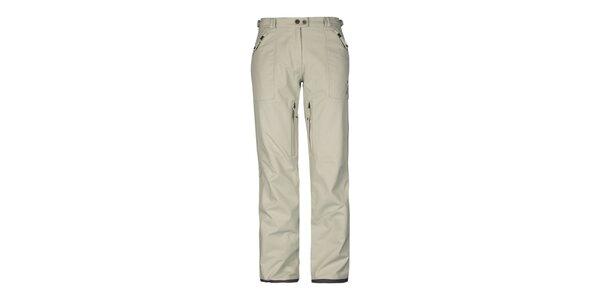 Dámske béžové nohavice Husky