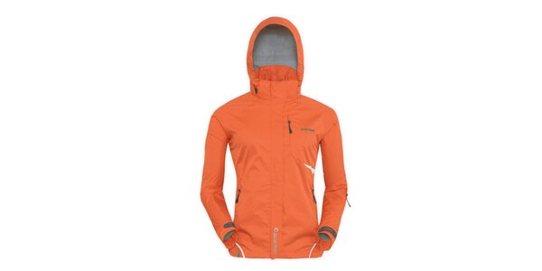 Dámska oranžová funkčná bunda Husky
