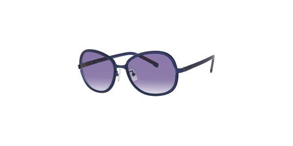 Modré dámske slnečné okuliare Lacoste