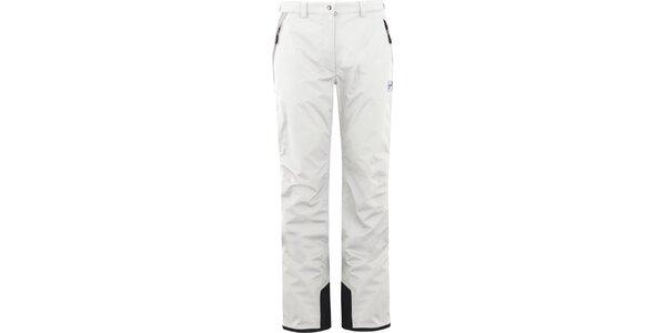 Dámske biele lyžiarske nohavice Husky