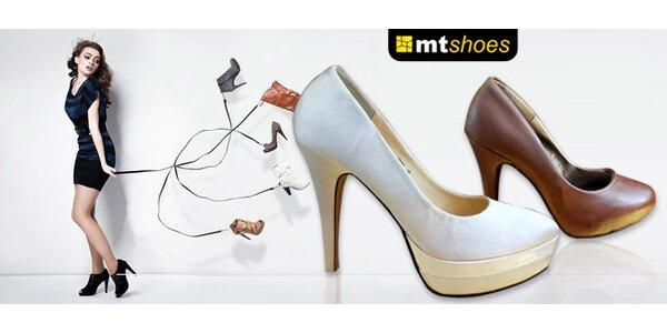 Rôzne modely topánok od MT shoes