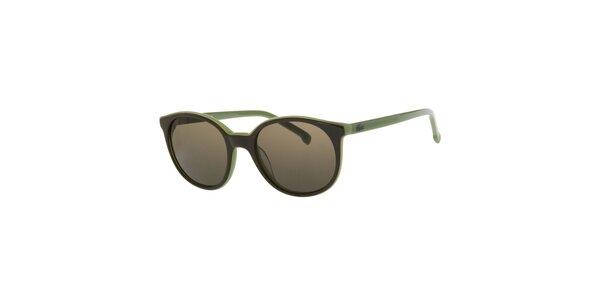Dámske zelené slnečné okuliare Lacoste