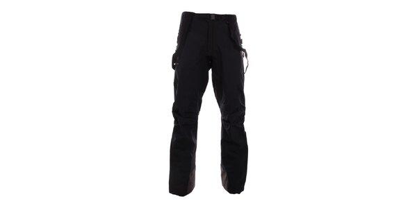 Pánske čierne horolezecké nepremokavé nohavice Hannah