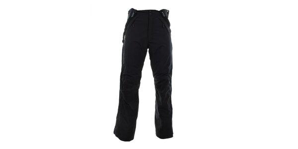 Pánske čierne funkčné zimné nohavice Hannah