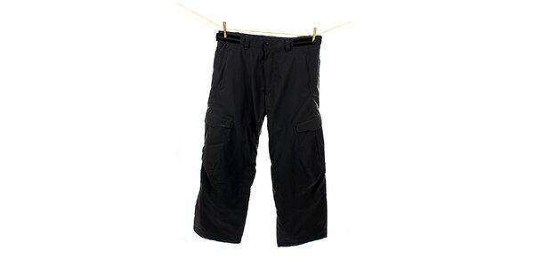 Pánske tmavo šedé snowboardové nohavice Hannah