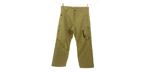Pánske žlto-zelené športové nohavice Hannah