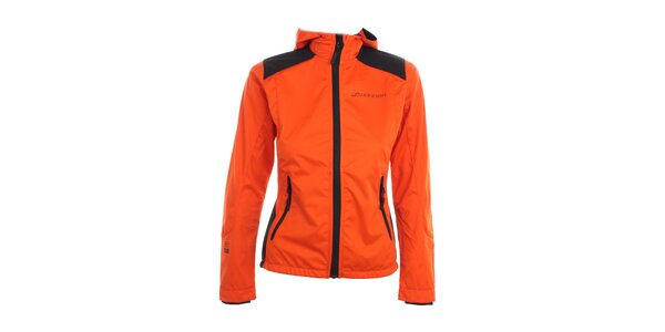 Dámska oranžová softshellová bunda Hannah
