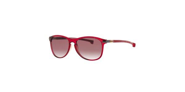 Červené pánske slnečné okuliare Lacoste