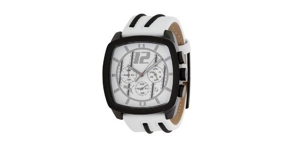 Pánske biele analogové hodinky Puma