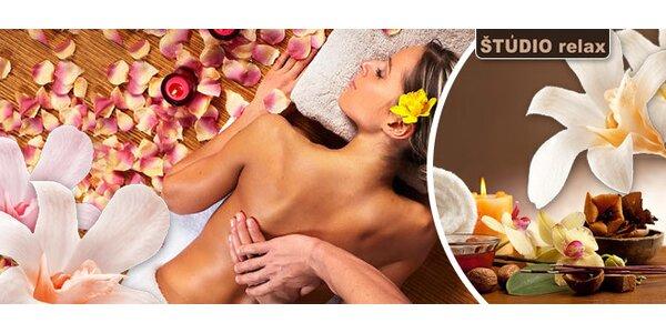 Jesenná ajurvédska masáž