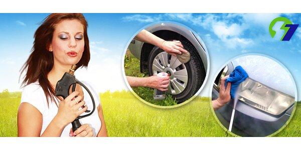 25 eur za dokonalé a šetrné umytie vášho auta zvonka i zvnútra so zľavou 50%!