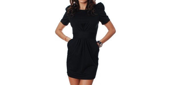 Dámske čierne šaty Mya Alberta