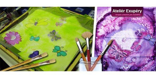 Umelecký workshop maľby na hodváb